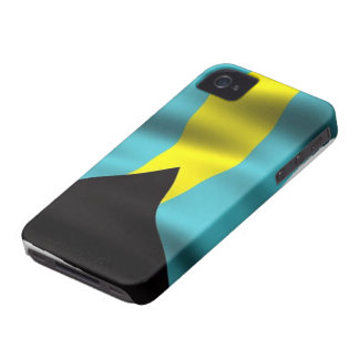 Flag of the Bahamas iPhone 4/4S Case-Mate Case