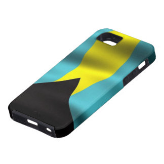Flag of the Bahamas iPhone 5 Case-Mate Tough™ iPhone SE/5/5s Case