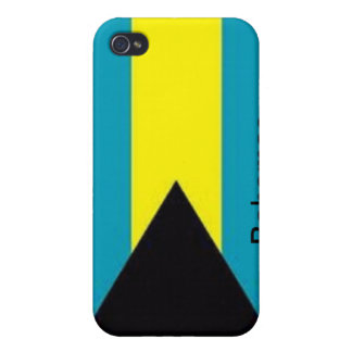 Flag of the Bahamas Cases For iPhone 4