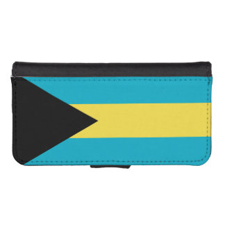 Flag Of The Bahamas iPhone SE/5/5s Wallet