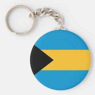 Flag of the Bahamas Keychain