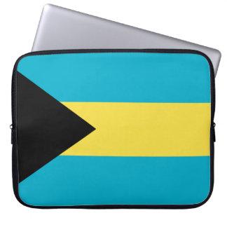 Flag of The Bahamas Laptop Sleeve