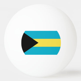 Flag of The Bahamas Ping-Pong Ball