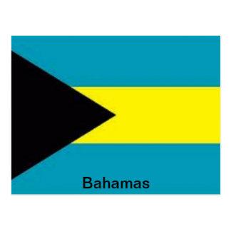 Flag of the Bahamas Postcard