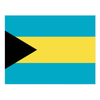 Flag of The Bahamas Postcard