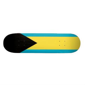 Flag Of The Bahamas Skateboard Deck