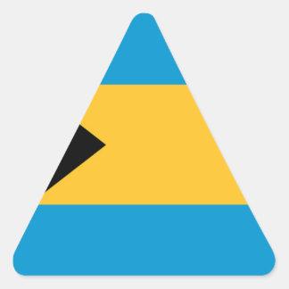 Flag of the Bahamas Triangle Sticker