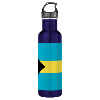Flag Of The Bahamas Water Bottle