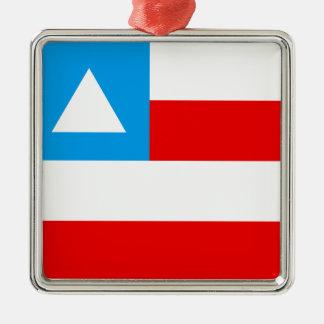 Flag of the Brazil Bahia Metal Ornament