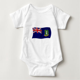 Flag of the British Virgin Islands Baby Bodysuit