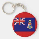 Flag of the Cayman Islands Keychain