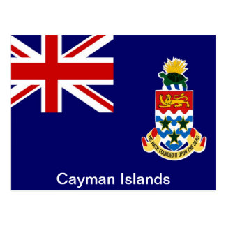Flag of the Cayman Islands Postcard