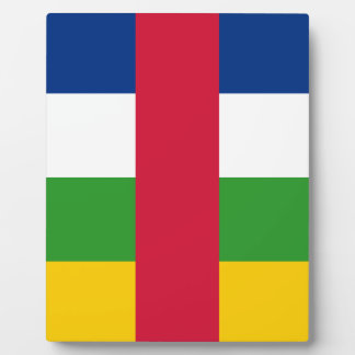 Flag_of_the_Central_African_Republic Plaque