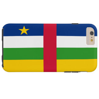 Flag of the Central African Republic Tough iPhone 6 Plus Case