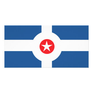 Flag of the City of Indianapolis Card