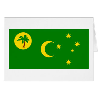 Flag of  the Cocos Islands Cards