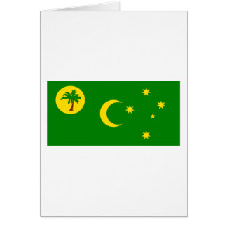 Flag of  the Cocos Islands Greeting Card