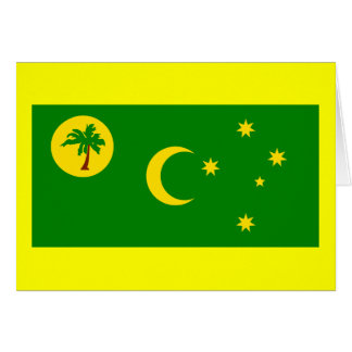 Flag of the Cocos (Keeling) Islands Greeting Cards