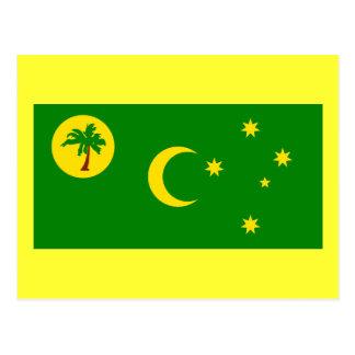 Flag of the Cocos (Keeling) Islands Postcard