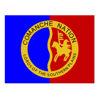 Flag of the Comanche Nation Postcard