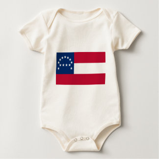 Flag of the Confederate Army of Northern Virginia Baby Bodysuit
