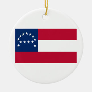 Flag of the Confederate Army of Northern Virginia Ceramic Ornament