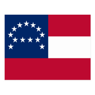 Flag of the Confederate Army of Northern Virginia Postcard