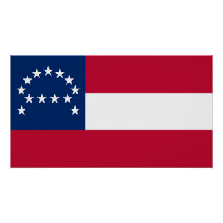 Flag of the Confederate Army of Northern Virginia Poster