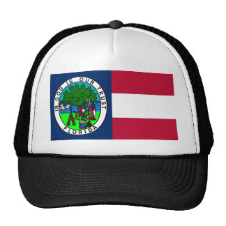 Flag of the Confederate State of Florida 1861 Trucker Hat