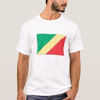 flag of the Congo Mens T-Shirt
