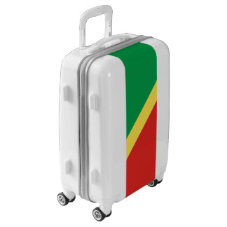 Flag of the Congo Republic Luggage (Carry-On)