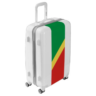 Flag of the Congo Republic Luggage (Medium)