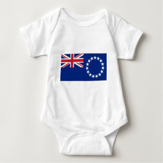 Flag_of_the_Cook_Islands Baby Bodysuit
