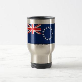Flag of the Cook Islands Travel Mug