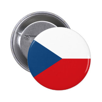Flag of the Czech Republic 2 Inch Round Button