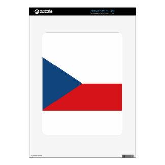 Flag of the Czech Republic - Česká vlajka Skin For iPad