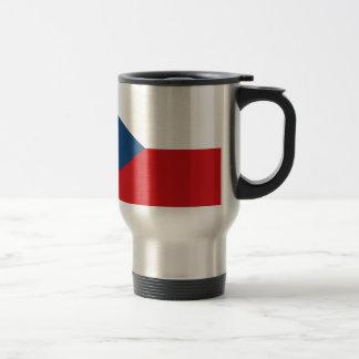 Flag of the Czech Republic - Česká vlajka Travel Mug