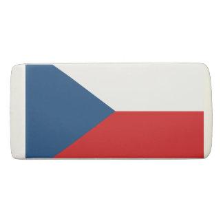 Flag of the Czech Republic Eraser