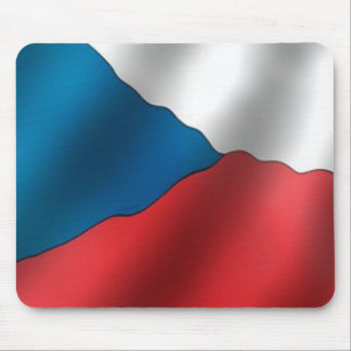 Flag of the Czech Republic Mouse Pad