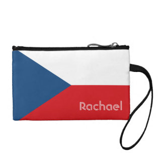 Flag of the Czech Republic Personalized Coin Wallet