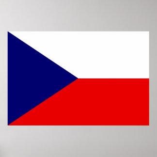 Flag of the Czech Republic Poster