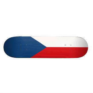 Flag of the Czech Republic Skateboard Deck