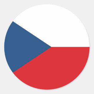 Flag of the Czech Republic Sticker