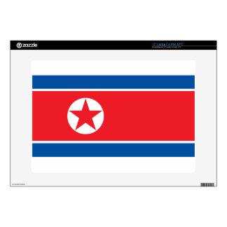Flag of the Democratic People's Republic of Korea Laptop Skin