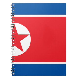 Flag of the Democratic People's Republic of Korea Notebook