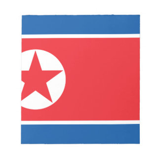 Flag of the Democratic People's Republic of Korea Notepad
