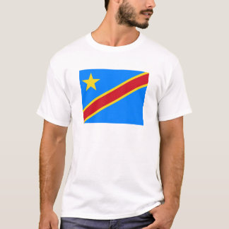Flag of the Democratic Republic of the Congo T-Shirt
