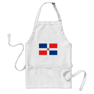 Flag of the Dominican Republic Adult Apron