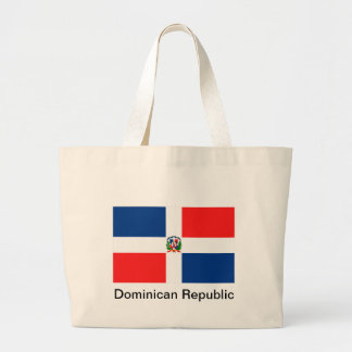 Flag of the Dominican Republic Tote Bags