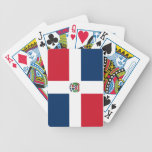 Flag of the Dominican Republic Bicycle Card Decks